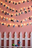 Radiance Dimmable Starry String Lights with Wireless Remote,  40 ft, Copper Wire, Warm White
