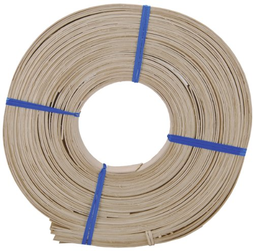 Commonwealth Basket 25.4mm Flat Reed, 75-Feet (Inch 1 Reed Basket)