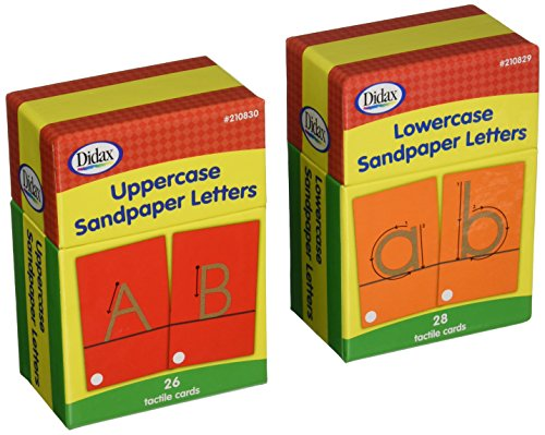 (Didax Educational Resources Sandpapers Letters Boxed Set)
