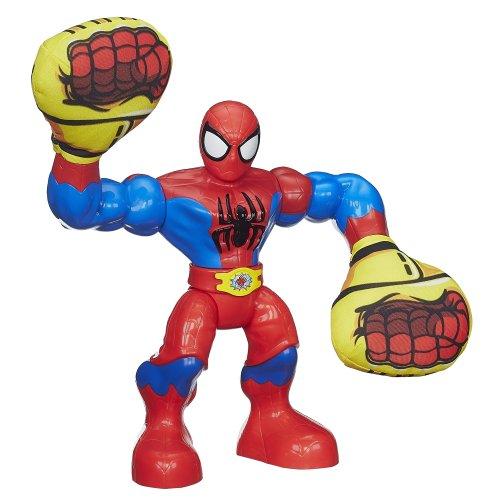 Playskool Heroes Super Hero Adventures Ka-Pow Spider-Man Action Plush