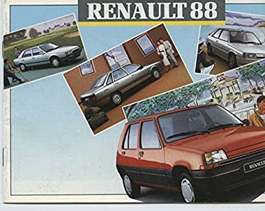 1988 Renault 4 5 9 11 21 25 Express Espace Jeep Alpine Brochure French