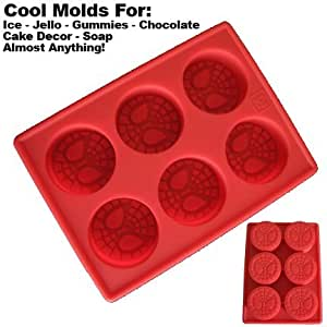 Silicone Mold for Ice and More: Spiderman