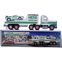 1991 HESS TOY TRUCK WITH RACER
