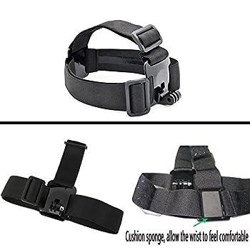 Black Pro Basic Common Outdoor Sports Kit For Gopro Hero 6gopro Fusionhero 5session543+321 Sj400050006000akasoapemandbpowerand Sony Sports Dv & More 4