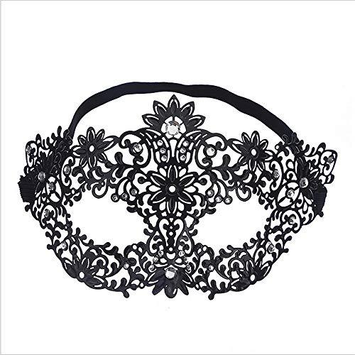 - Fly Diamond Ball Half Face Mask Makeup Cosplay Prop Metal Iron Princess Goggles Flower Fairy Mask mask