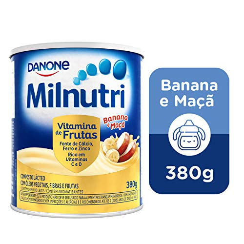 Composto Lácteo Milnutri Vitamina de Frutas Danone Nutricia 380g