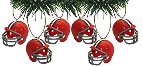 - Cleveland Browns Football Helmet Ornaments Set Of 6