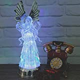 """Wondise 14"""" Color Changing Angel Lighted Water"""