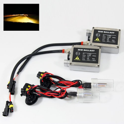 04-05 Pontiac Bonneville GXP H3 35W Xenon HID (High Intensity Discharge) Conversion Kit for Fog Lights - 3000K Yellow