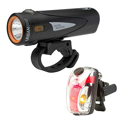 Light & Motion Urban 500 Commuter Combo Bike Light Kit by Light and Motion