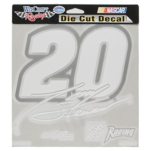 Tony Stewart - # 20 Signature Cut Out Decal (Cut Out Decal)