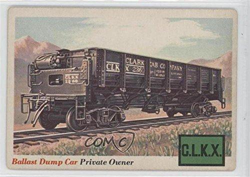 Ballast Dump Car COMC REVIEWED Poor to Fair (Trading Card) 1955 Topps Rails and Sails - [Base] #10 Ballast Dump Car
