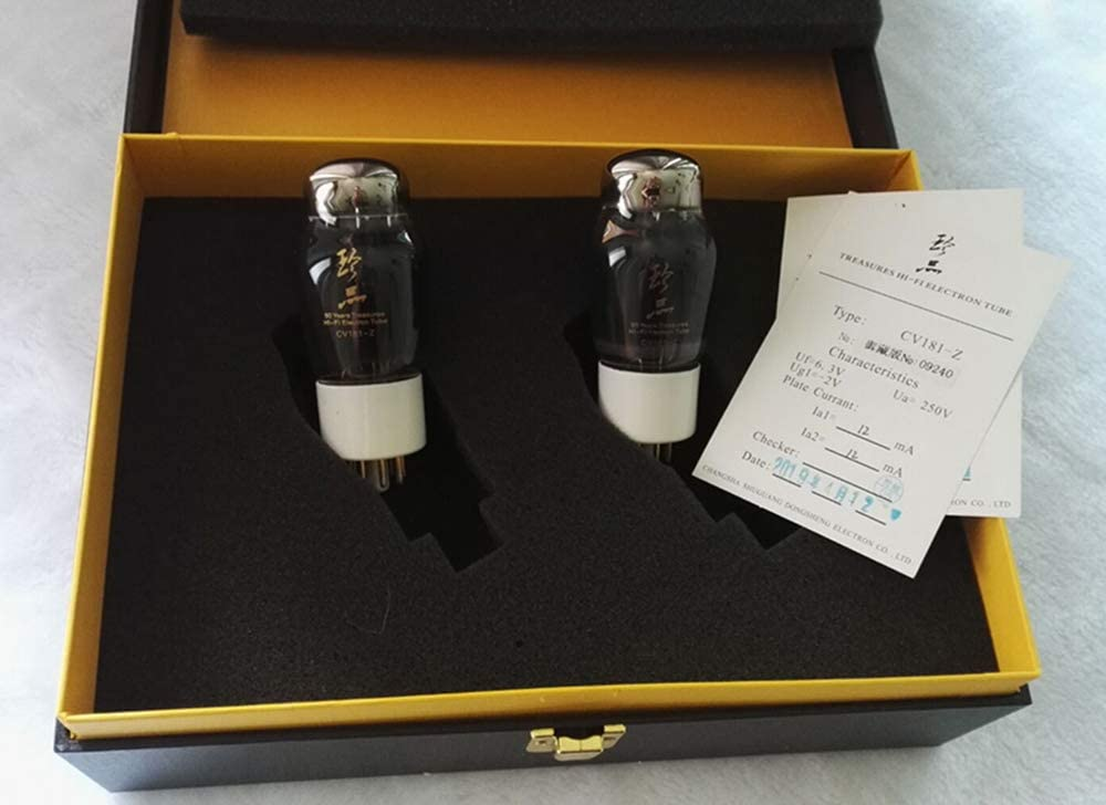 Matched pair Shuguang Audio Valve Vacuum Tube 6SN7GT Re 6N8P for Valve Amp