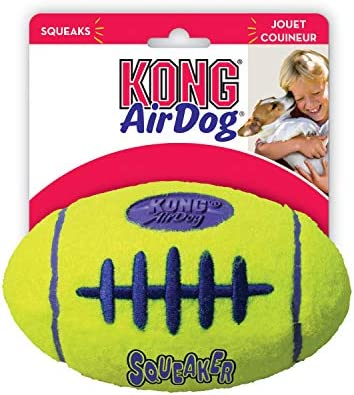 KONG - AirDog® Squeaker Football - Juguete sonoro y saltarín ...