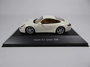 Atlas Porsche 911 Carrera (997) 2004 white1 / 43 - Ref: 4014