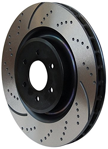(EBC Brakes GD7213 3GD Series Dimpled and Slotted Sport Rotor)