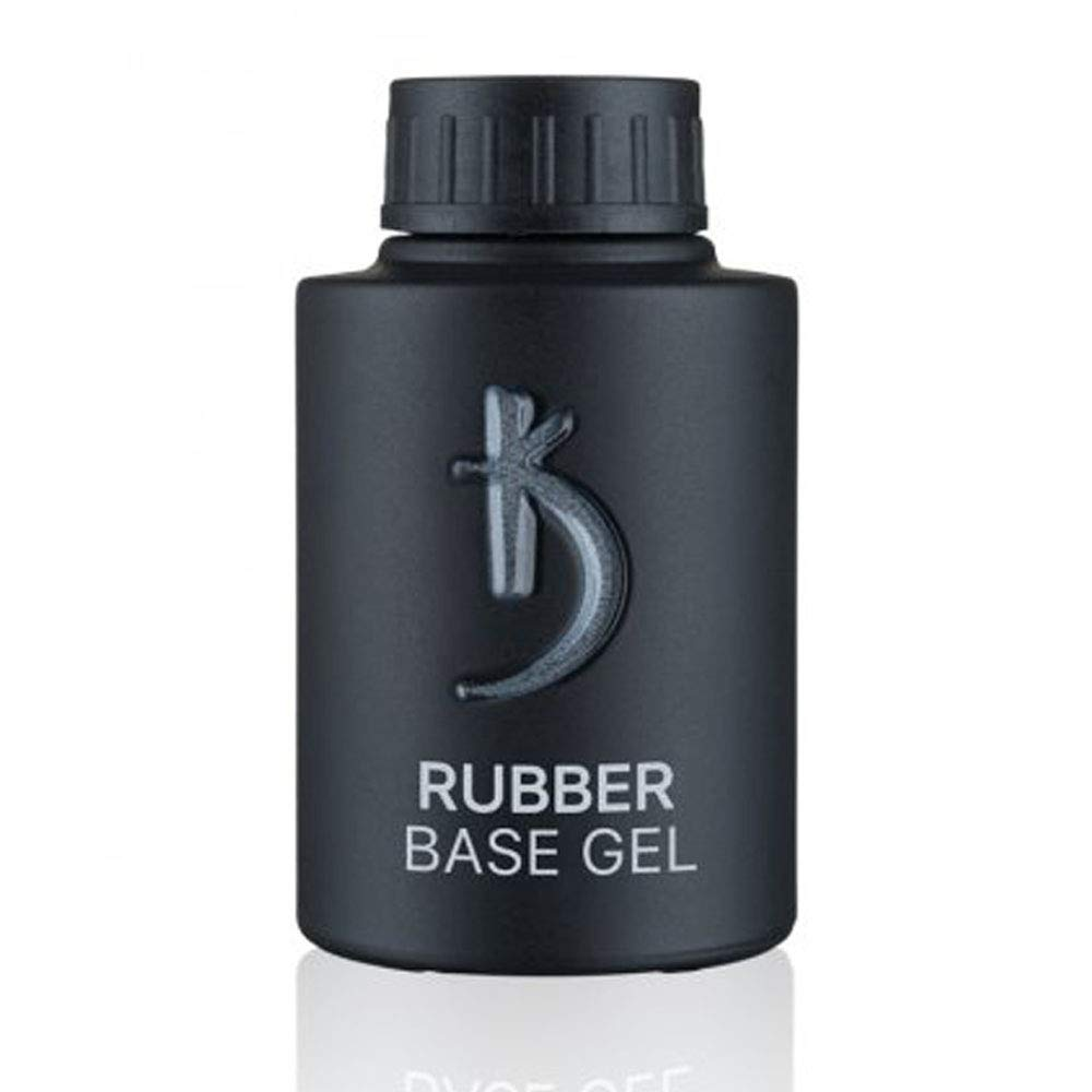 Professional Rubber Base Gel By Kodi | 35ml 1.18 oz | Soak Off, Polish Fingernails Coat Gel | For Long Lasting Nails Layer | Easy To Use, Non-Toxic & Scentless | Cure Under LED Or UV Lamp