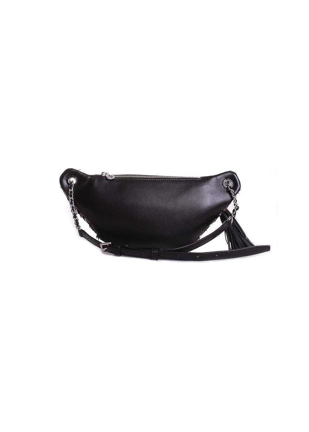 e448810be9d7 Amazon.com  Tory Burch Fleming Tweed Belt Bag in Boucle Lurex Tweed   Clothing