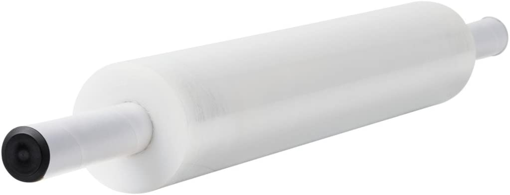 Duck Brand Stretch Wrap With Handle, 20 Inch x 1000 Feet, Clear, Single Roll : Stretch Film : Office Products