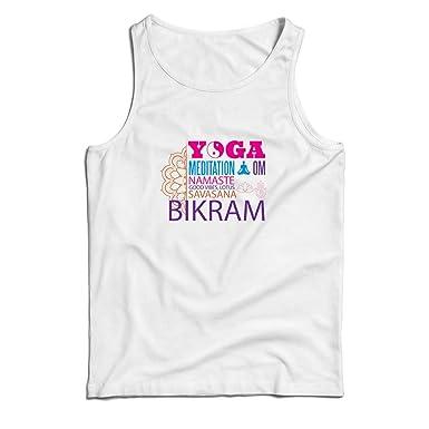 lepni.me Camisetas de Tirantes para Hombre Yoga Meditation ...
