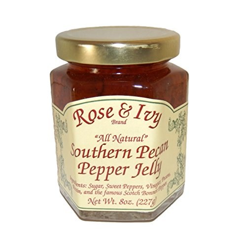 (Rose & Ivy All Natural Southern Pecan Pepper Jelly)