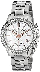 Rotary Women's alb90086/c/01 Analog Display Swiss Quartz Silver Watch