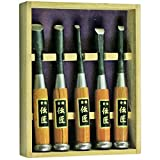 Wood Carving Work Hardening Japanese Chisel 5 Piece