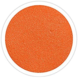 Sandsational Sparkle Orange Unity Sand, 22 oz, Colored Sand for Weddings, Vase Filler, Home Décor, Craft Sand