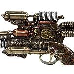 Veronese Steampunk Gauss Coil Dummy Pistol Statue 10.5 Inch Long 8