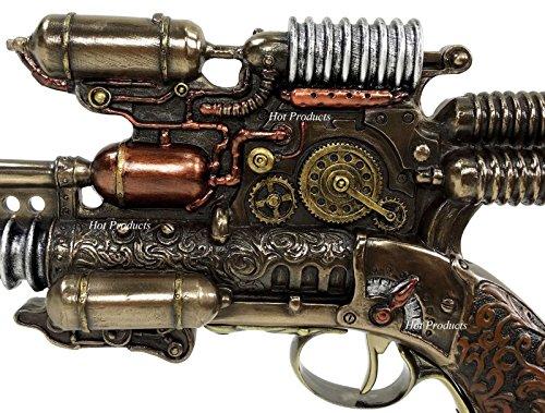 Veronese Steampunk Gauss Coil Dummy Pistol Statue 10.5 Inch Long 5