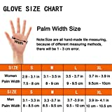 Winter Gloves Touch Screen Gloves Outdoor Cycling / Driving Gloves for Men and Women (Black, L/XL)