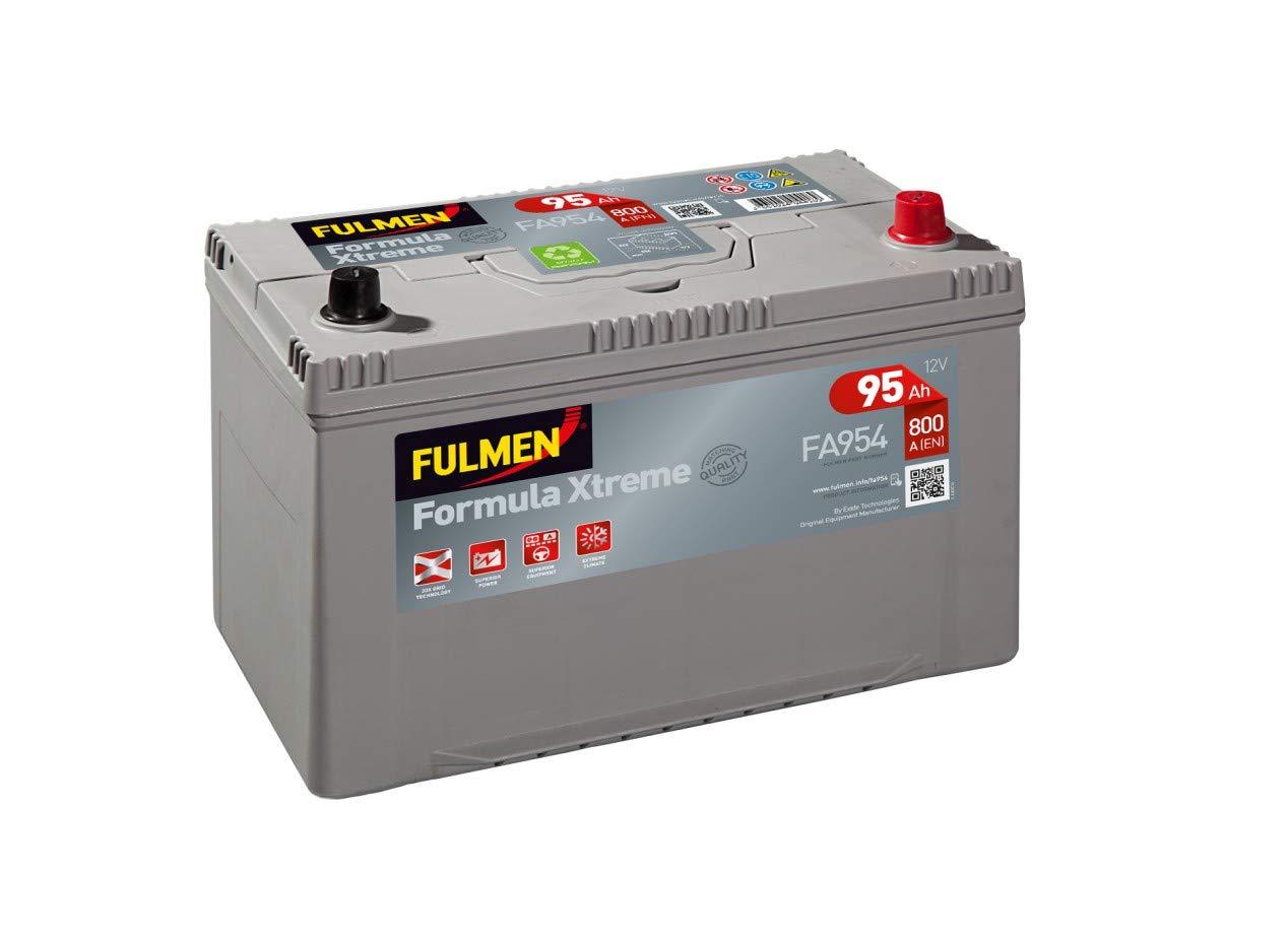 Batterie d/émarrage fulmen fa954 12v 95ah 800a