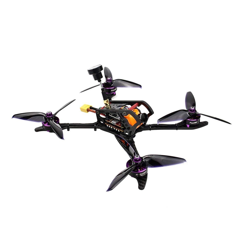 Harlls HGLRC 2306 4-5S Mefisto 226mm Kohlefaser-Radstand Kohlefaser-Radstand Kohlefaser-Radstand FPV RC Racing Drohne Quadcopter PNP mit F4 Betaflight OSD 600TVL-Kamera - Schwarz b496ca