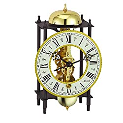 Qwirly Store: Hermle Kehl Mechanical Skeleton Table Clock 23003-000711