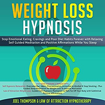 Amazon com: Weight Loss Hypnosis: Stop Emotional Eating