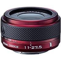 Nikon 1 Nikkor 11-27.5mm f/3.5-5.6 Lens for CX Format (Red) International Version (No warranty)