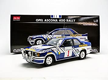 Sunstar Opel Ascona 400 - # 1 J.Klein / G.Wagner Safari Rally 1981 - 01:18 Escala Diecast Car: Amazon.es: Juguetes y juegos