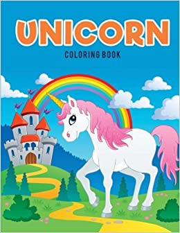 Unicorn Coloring Book Coloring Pages For Kids 9781635894240