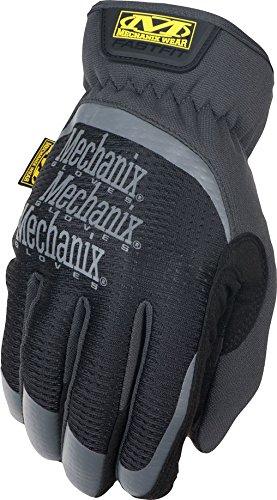 (Mechanix Wear MFF-05-010 Slip-On Elastic-Cuff Mechanic's Glove Fast Fit Gloves,)