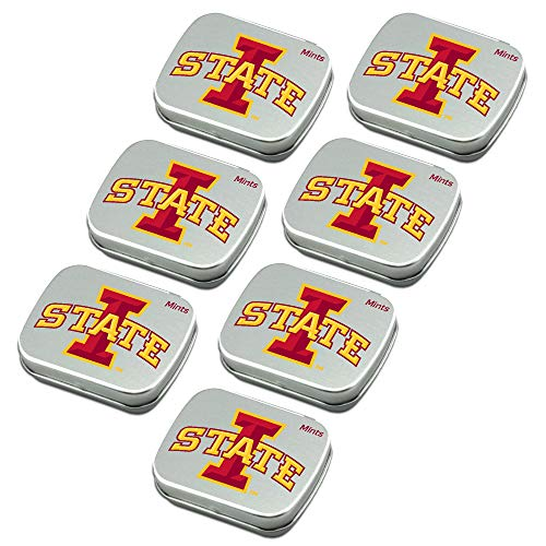 Worthy Promo NCAA Iowa State Cyclones Party Favors Sugar-Free Peppermint Candy Mint Tins
