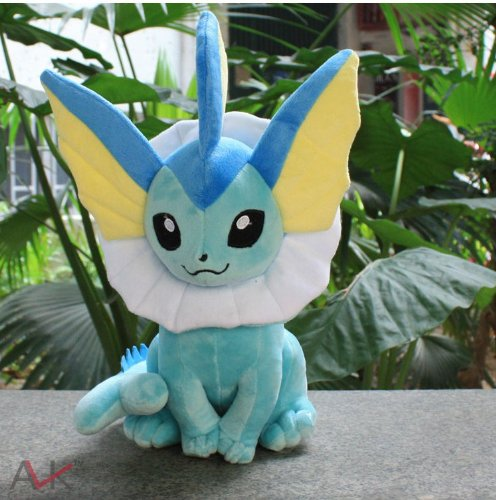 Pokemon Plush Eevee Doll Around 31CM by rocknow Vaporeon