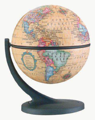 Replogle Globes 12/1 Wonder Globe, Antique Ocean, 11cm Diameter