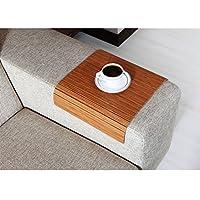 Full Slatted Exotic Bamboo 30cmx40cm Sofa tray, sofa table, arm table,couch tray, wooden tray,wood tray,napoli disbudak