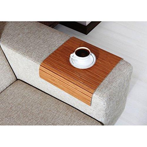 Phenomenal Amazon Com Full Slatted Exotic Bamboo 30Cmx40Cm Sofa Tray Evergreenethics Interior Chair Design Evergreenethicsorg