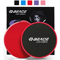 BEACE Exercise Core Sliders - Set of 2 Gliding Discs -...