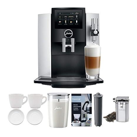 Amazon.com: Jura S8 - Cafetera espresso con pantalla táctil ...
