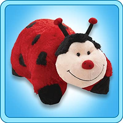 """My Pillow Pets Miss Lady Bug 18"""": Toys & Games"""