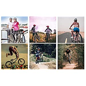 Casque Vélo VTT et VTC Adulte Jeunesse Unisexe Casque de Cyclisme de Réglable de Sport pour BMX Skate Scooter Patines Conçu pour la Sécurité des Utilisateur Marven