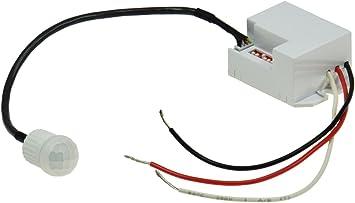 60//° Max /24/V Detector de movimiento /10/min ajustable hasta 8/m de alcance 12/ 6/a 1/