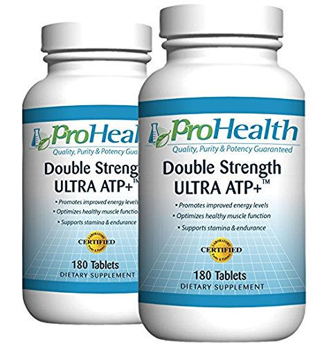 (ProHealth Ultra ATP+ Double Strength 2-Pack (360 Tablets) | Malic Acid with Magnesium | Essential for Muscle Relaxation | Malic Acid Promotes ATP | Promotes Proper Muscle Function)